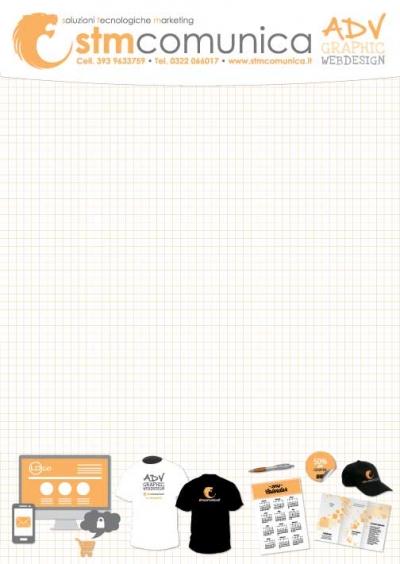 Gadgetblocknotes personalizzati da 50 fogli prezzo offerta gallarate borgomanero arona