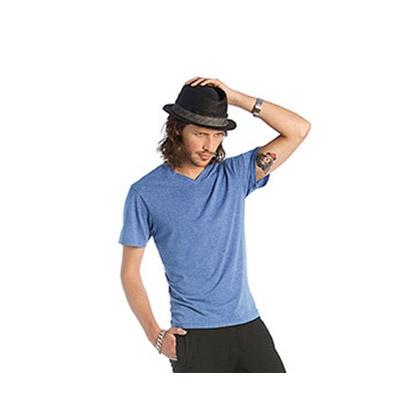 maglietta manica cortamaglia con girocollo a V personalizzata