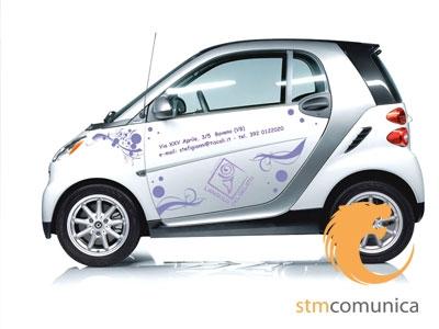 Adesivi automezzismart personalizzata adesivi a stresa