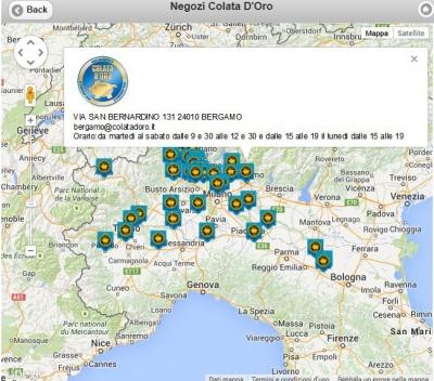 Mappa Di Localizzazionemappe interattive per utenti programmi aziendali