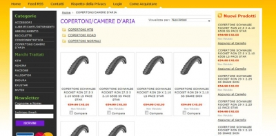 Siti Webe-commerce negozio online sito web gallarate busto borgomanero legnano